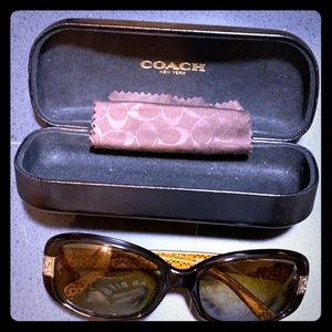 Rarely used Coach prescription sunglasses